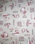 Ткань для штор Java Breakfast A 01- Хлопок