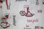 Ткань для штор Dolce Lino Breakfast B 01- Льняная тюль