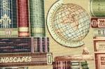 Ткань для штор Arazzo Library- Гобелен