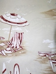 Ткань для штор Azov Plage 01- Хлопок