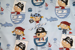 Ткань для штор Mediterraneo Pirate A 02- Сатин