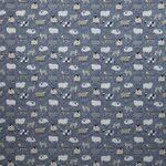 Ткань для штор Baa Baa DENIM Henley Iliv