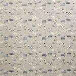 Ткань для штор Baa Baa CHARCOAL Henley Iliv