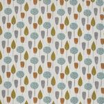 Ткань для штор Scandi Trees Tangerine Scandi Iliv
