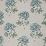 Ткань для штор Camellia COBALT Floral Pavilion Iliv