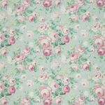 Ткань для штор Summer Rose AQUA Floral Pavilion Iliv