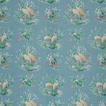 Ткань для штор Waterbirds COBALT Floral Pavilion Iliv