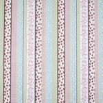 Ткань для штор Sherbet Stripe PINK Story Time Iliv