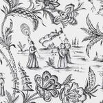 Ткань для штор 21104-295 Black & White Prints and Wovens Duralee