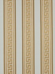 Ткань для штор Meander-Stripe-Warm-Gold Modern Silk I Beacon Hill