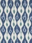 Ткань для штор Miram-Ikat-Lagoon-Blue Outdoor Ikats Beacon Hill