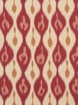 Ткань для штор Miram-Ikat-Pomegranate Outdoor Ikats Beacon Hill