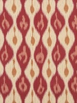 Ткань для штор Miram-Ikat-Pomegranate Outdoor Ikats Beacon Hill