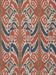 Ткань для штор Sabina-Ikat-Indigo Outdoor Ikats Beacon Hill