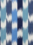 Ткань для штор Ibi-Ikat-Lagoon-Blue Outdoor Ikats Beacon Hill