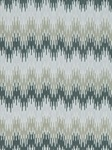 Ткань для штор Sonia-Ikat-Silver-Coal Linen Ikats And Suzanis Beacon Hill