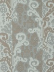 Ткань для штор Cassia-Ikat-Silver Linen Ikats And Suzanis Beacon Hill