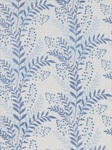 Ткань для штор Carnegie-Hill-Indigo Linen Embroidery And Appliques Beacon Hill