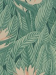 Ткань для штор Paradise-Frond-Coral Coral Beacon Hill