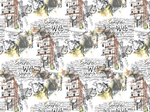 Ткань для штор 2520-83 Wonderland Eustergerling