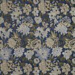Ткань для штор Winterbourne NAVY Art-Deco Iliv
