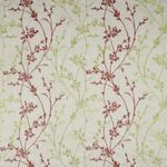 Ткань для штор Whisp embroidery MAGENTA Meadow Iliv