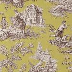 Ткань для штор BIEN ALLER LANDES 004 VERT Carrousel Galleria Arben