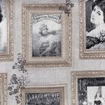 Ткань для штор CORSET 002 NATUREL Carrousel Galleria Arben