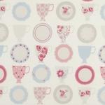 Ткань для штор F0367-1 Nostalgic Prints Clarke&Clarke
