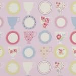 Ткань для штор F0367-5 Nostalgic Prints Clarke&Clarke