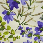 Ткань для штор GAZEBO CORNFLOWER 001 Aquarelle Galleria Arben