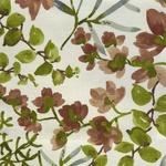 Ткань для штор GAZEBO UMBER 004 Aquarelle Galleria Arben