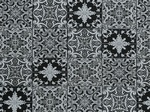 Ткань для штор HL-AZULEJOS 002 BLACK Balenciaga Galleria Arben