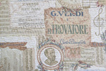 Ткань для штор Tapestry Verdi- Гобелен