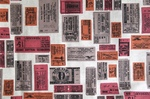 Ткань для штор Java Tickets- Хлопок