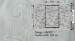 Ткань для штор LIBERTY 002 Souffle Galleria Arben