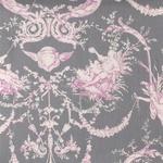 Ткань для штор MONTESPAN LANDES 001 GRIS ROSE Carrousel Galleria Arben