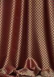 Ткань для штор Monaco-red Classic KT Exclusive