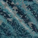 Ткань для штор PALATIAL 06 SAPPHIRE Glamour Galleria Arben