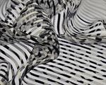 Ткань для штор 4005-1 White Kobe