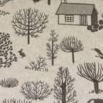 Ткань для штор CAITHNESSCHARCOAL Glendale Voyage Decoration