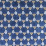 Ткань для штор DILANIINDIGO Myanmar Voyage Decoration