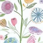 Ткань для штор FARAHSUMMER Myanmar Prints Voyage Decoration