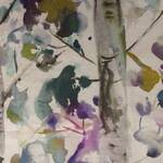 Ткань для штор IZUSAINDIGO Iridescence Velvets Voyage Decoration