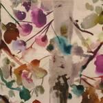 Ткань для штор IZUSALOTUS Iridescence Velvets Voyage Decoration
