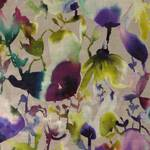 Ткань для штор LUCENTINDIGO Iridescence Velvets Voyage Decoration