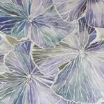 Ткань для штор NELUMBOSAPPHIRE Alchemy Prints Voyage Decoration