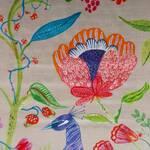 Ткань для штор RASHIEKAPETITESILVER Myanmar Voyage Decoration