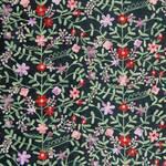 Ткань для штор SABINAPANSYBLACK Mazurka Voyage Decoration