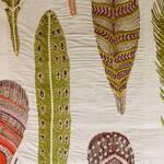 Ткань для штор SAMUIFUCHSIA Myanmar Voyage Decoration